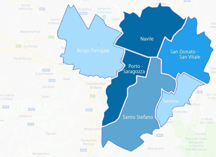 Provincia Bologna Cartina.Volantinaggio A Bologna E Provincia Check Into Distribuzione Door To Door